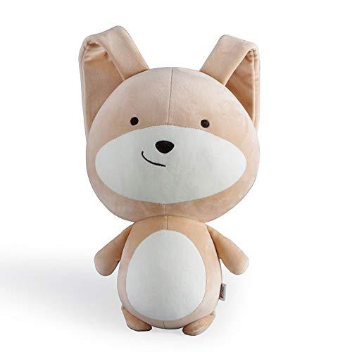 Ep-toy coniglietto giocattolo, pasqua cute coppia coniglietto peluche bambola, bambola bambola addormentata del bambino,brown