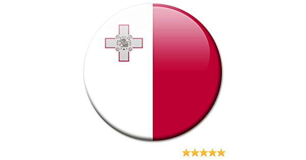 Kühlschrankmagnet Flagge Malta Magnet Länder Flaggen Reise Souvenir Für Kühlschrank Stark Groß 50 Mm Küche Haushalt