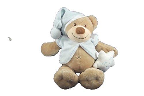 Kiabi–Doudou Nattou Kiabi oso chaqueta y gorro azul...