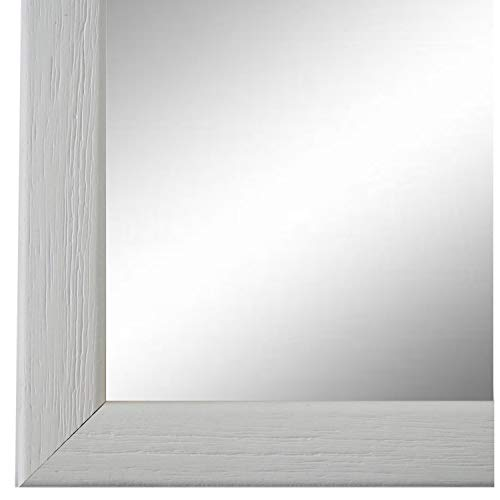 Online Galerie Bingold Spiegel Wandspiegel Weiß 30 x 40 cm - Modern, Vintage, Shabby - Alle Größen - Made in Germany - AM - Pinerolo 2,3