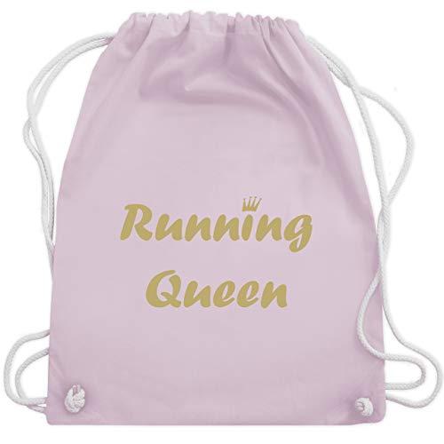 Laufsport - Running Queen - Unisize - Pastell Rosa - WM110 - Turnbeutel & Gym Bag