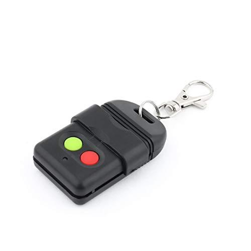 WEIWEITOE Drahtlose Auto Copy Fernbedienung Duplicator 330MHz Face to Face Copy Datenschutz Garagentore Schlüssel Auto Gate Doors Key, schwarz, -