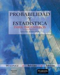 Descargar Libro Probabilidad y estadística para ingenieros de Raymond H. Myers