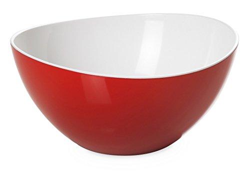 montefioredesign - Saladier Plastique Couleur Rouge