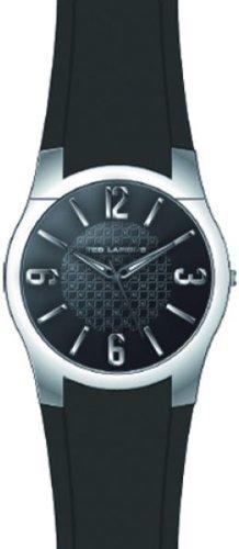 Ted Lapidus 5117402 - Reloj analógico de cuarzo para hombre con correa de plástico, color negro