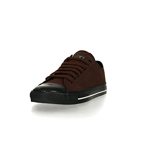 Ethletic Black Cap vegan LoCut Collection 17 - Farbe nut brown / jet black aus Bio-Baumwolle Größe 37 - 2