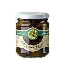 Oliven Taggiasche in Olivenöl