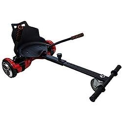Airel Hoverkart   Hoverkart Metal   Kart Hoverboard Universel   Hoverboard Kart Tout Terrain   Mesures: 55x47x20 cm