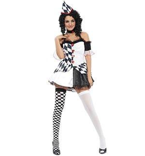 Harlekin-Kostüm - Adult Kostüm (Großbritannien Kostüm)