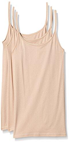 Triumph Damen Unterhemd Katia Basics Shirt01 3P, Beige (Smooth Skin 5G), Gr. 44
