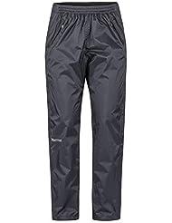 Marmot Wm's Precip Eco Full Zip Pant imperméable, Pantalon étanche Femme, Pluie, Coupe Vent, Respirant