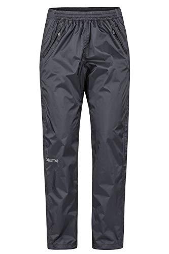 Marmot Damen PreCip Eco Full Zip Pant Hardshell Regenhose, Black, S - Damen Full Zip