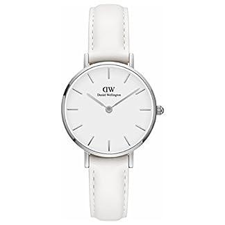 [Daniel Wellington] Daniel Wellington Reloj Ladies Classic Pettitte Bondi blanco plata 28mm dw00100250[Regular importados]