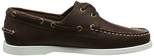 Hackett London Herren Newport Docksider Bootschuhe Braun (Dark Brown)