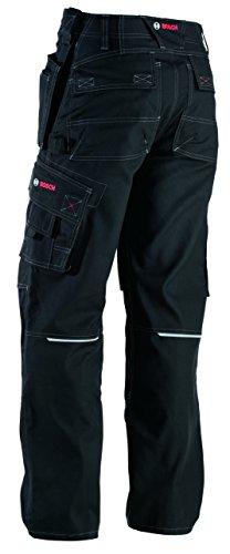 Bosch pantaloni da lavoro, WKT 09-82C44, incolore, XL, lavoro vestiti