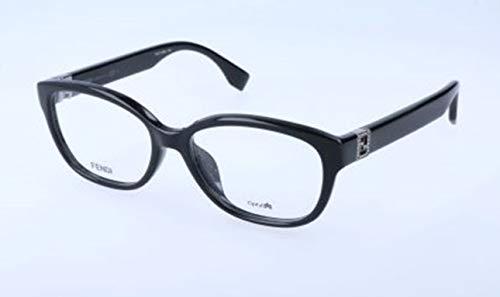Fendi Damen FF 0068/F D28/16-52-16-135 Brillengestelle, Schwarz, 52