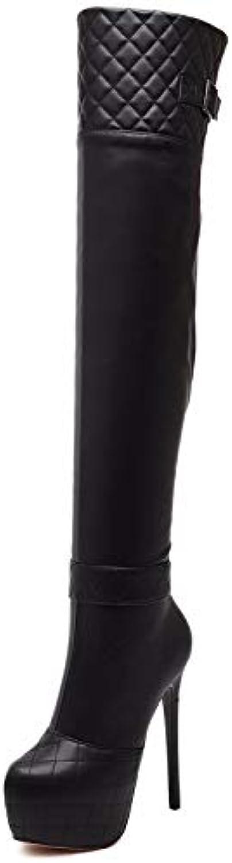 Olici - - - Stivali da Donna, Eleganti, da Lavoro, Tempo Libero, Altezza del Tacco  15 cm, Tacco Super Alto, in Pelle... | Vendite Online  88487c