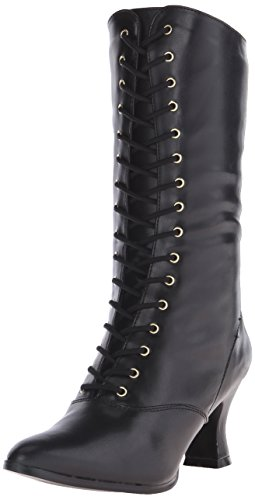 Ladies Victorian Boots Shoe Size 7 Fancy Dress