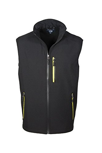 Michaelax-Fashion-Trade - Blouson - Uni - Manches Longues - Homme Black/Yellow (512)