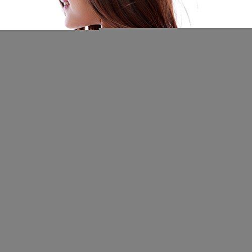 iBaste Femme Soutien Gorge de Sport Armatures Dos Nageur Emboîtant Bretelles Croisées Rose