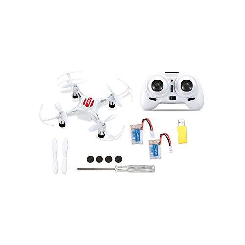 JJR/C H8 Mini 2.4G RC Drone Quadcopter con 2 baterías Combo Modo sin Cabeza-Blanco