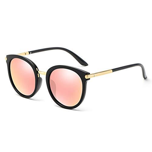 CCTYJ Sonnenbrillen Mode Frauen Übergroße Sonnenbrille Damen Spiegelbeschichtung Hot Summer Driving Eyewear