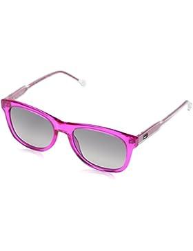 Tommy Hilfiger Unisex-Erwachsene Sonnenbrille TH 1501/S 9O Schwarz (Fuchsia), 49