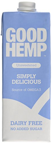 Good Hemp Unsweetened Hemp Drink 1 L (Pack of 6)