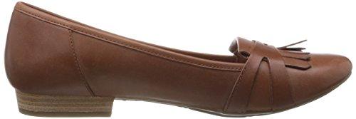 Clarks , Damen Sandalen Dark Tan Leather