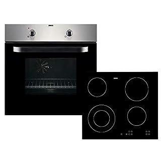 Zanussi ZPVF4130X 600mm Built-in Single Electric Oven + Ceramic Hob