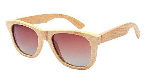 Insun Herren Sonnenbrille Mehrfarbig Mehrfarbig Gr. Einheitsgröße, Mehrfarbig - 2018C2 Wood Frame