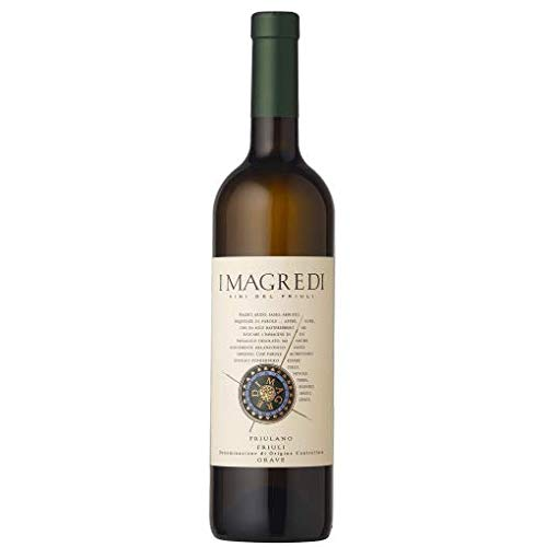 Vino bianco Friulano Tocai - Friuli Venezia Giulia- Cantina I Magredi - Confini del Gusto - 3 bottiglie
