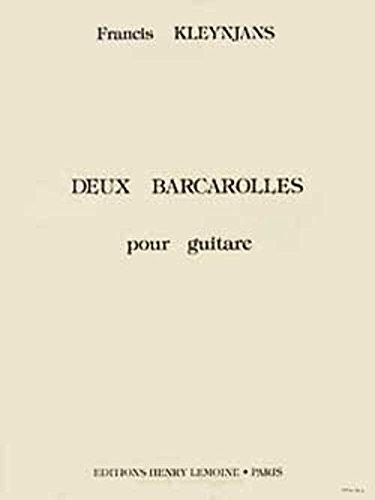 Barcarolles (2)