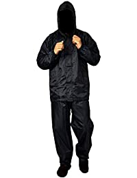 e130925efa9 FOBHIYA™ Polyester Waterproof Raincoat Super Soft Durable Bikers Rain Jacket  and Pant for Men with