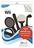 Cheapest Blue Ocean Accessories 28in1 Sports Pack (Black) (Wii) on Nintendo Wii