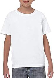 Sofia Clothing Kids School Plain White T-shirt