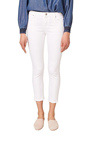 ESPRIT Damen Skinny Jeans 048EE1B038, Weiß (White 100), W32