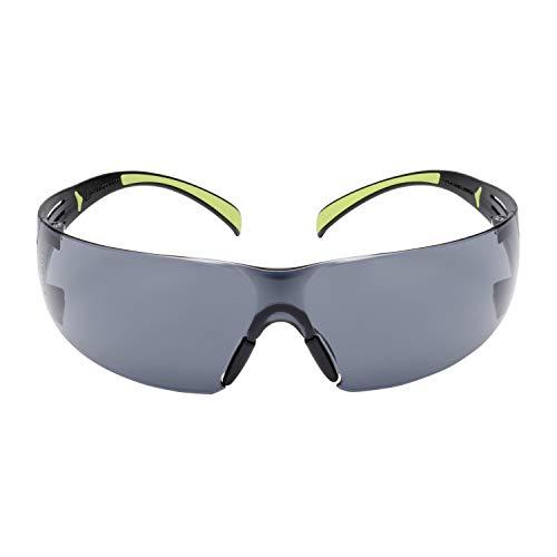 3M Schutzbrille SF400 GC1, grau - Komfortable Arbeitsschutzbrille mit Anti-Scratch-Beschichtung - Beidseitige UV, Anti-Kratz- & Anti-Beschlag-Beschichtung