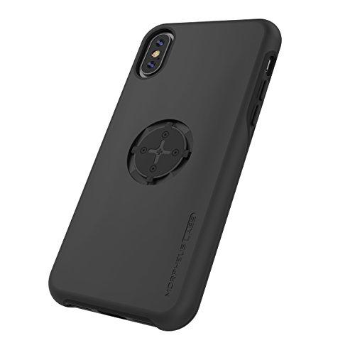 MORPHEUS LABS M4s Case für Apple iPhone X, Schutzhülle für iPhone 10, Hülle passend für alle M4s Halterungen / Mount, Case mit patentiertem magnetischem Rotations-Schnell-Verschluss, schwarz