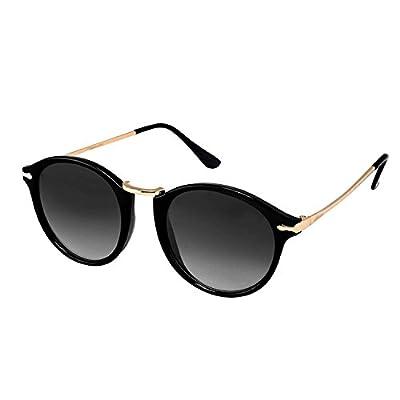 75af8e79988e Younky Unisex UV Protected Round Stylish Mercury Sunglasses For ...