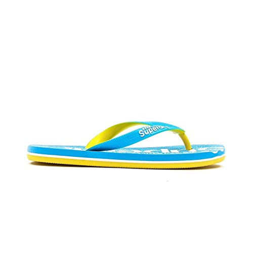 Superdry - Rubber/Plastic Flip Flops/Thongs, - Donna Azzurro