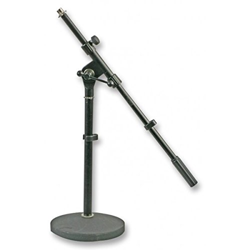 Pulse schwere Basis aus Zirkular kurz Mikrofonständer mit Galgen (Kurze Basis)