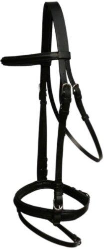 Ultrasport RTS Bride en cuir Comfort, noir, pur-sang, 3HO405-200-COB