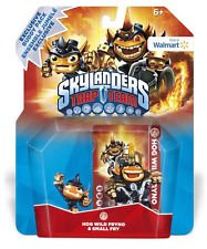 ACTIVISION Skylanders TRAP TEAM Minis Double PACK (rhyno + Fryno) Giocattolo ibrido