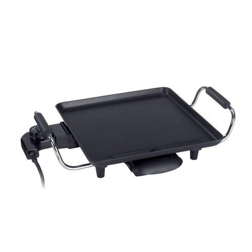 Bratplatte 28x28 abnehmbares Thermostat und Cool-Touch-Handgriffen