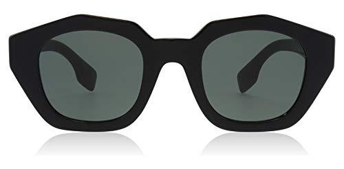 Burberry occhiali da sole be 4288 black/grey green donna