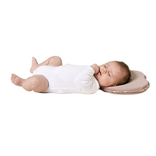 Baby Pillow Memory Foam Shaping Anti-roll Infant Prevent Flat Head Pillow