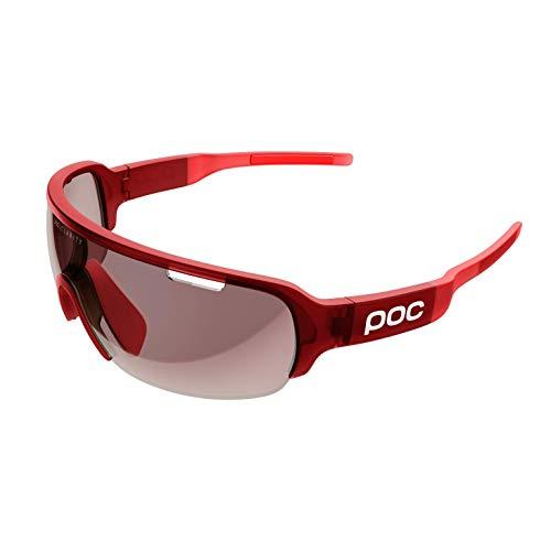 POC Unisex- Erwachsene DOHB5511 Sonnenbrille, Prismane Red Transluscent, ONE Size