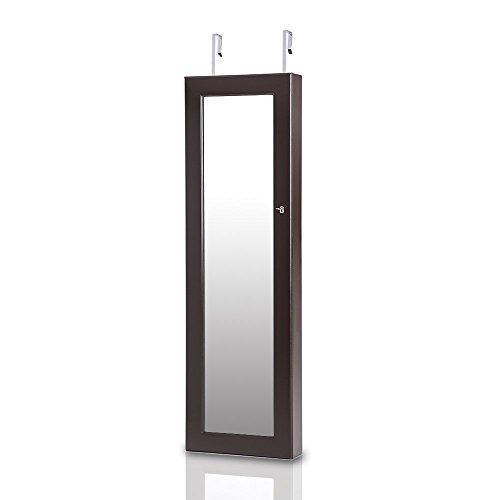 ikayaa 119x 35x 9cm hängend JCYJ01–Espejo de pared Montaje en puerta/pared montaje