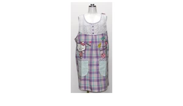 Hello kitty applique apron apron sanrio character japan